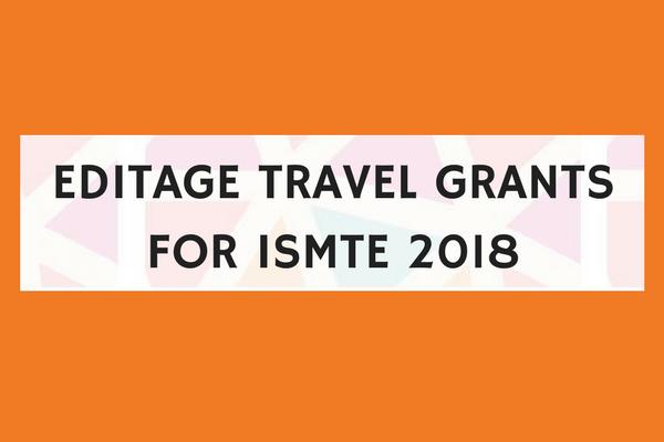 東アジアのジャーナル編集者に、ISMTE年次大会参加のためのトラベルグラントを支給